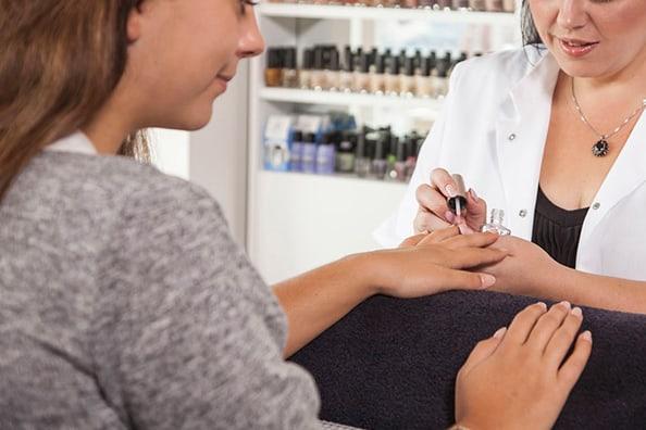manicure en pedicure bij Bodyline